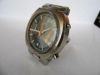 Herrenuhr Dugena Chronograph Automatic Cal.  12 Von Büren/heuer/breitling,  Läuft Bild