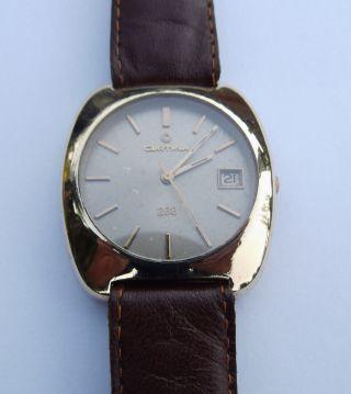 Certina 288 Automatik Vintage Swiss Made Herren Armbanduhr Kaliber 25 - 681 Bild