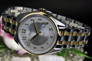 Kienzle Herren Uhr Automatik Edelstahl Bicolor Mit Metall Armband V83091142570 Bild