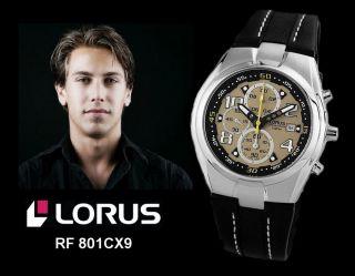 Lorus By Seiko Herrenuhr 43 Mm Chronograph Datum Stoppuhr Edelstahl Analog Watch Bild