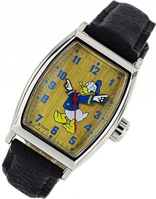 Disney Mickey Mouse Zr 25547 Handaufzug Kinderuhr Bild