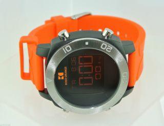 Hugo Boss Orange Herren - Armbanduhr - Chornograph / Quarz / Edelstahl & Silikon Bild