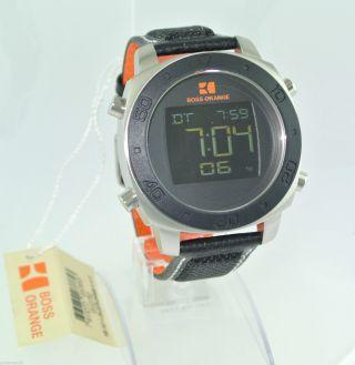 Hugo Boss Orange Herren - Armbanduhr - Chornograph / Quarz / Edelstahl Bild