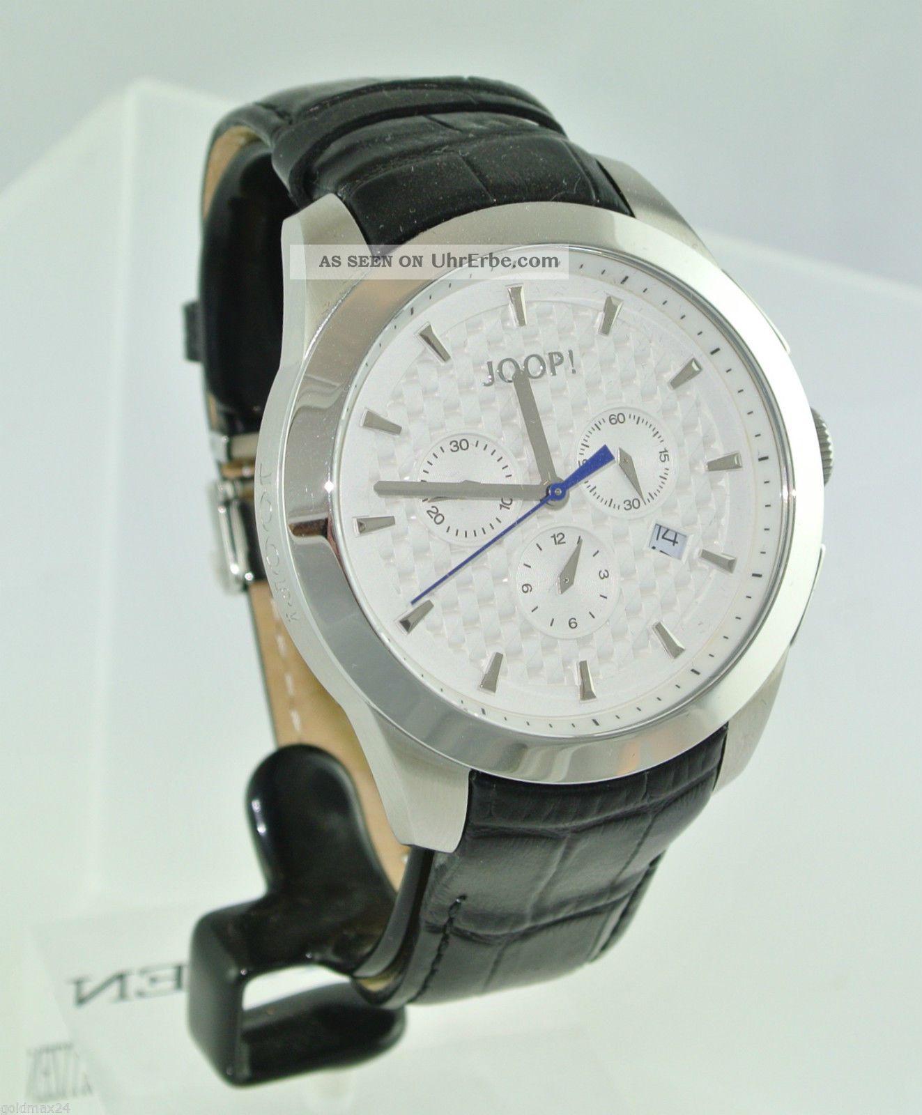Joop Legend Xl Herren - Armbanduhr - Chronograph / Quarz / Edelstahl Armbanduhren Bild