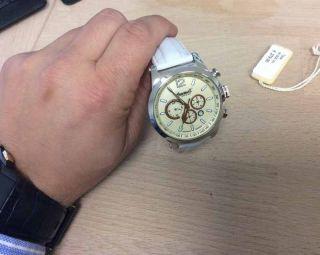 Ingersoll In320ch Taos Herrenuhr Leder Armband Uhr Ist Wie Nur 1 X Getragen Bild