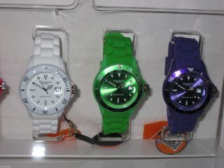 Madison York Armbanduhr Uhr Candy Time Analog Silikon 6 Farben Bild
