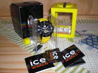 Ice Watch Uhr - Ice Chrono - Bvb - Limited Edition Sp.  Bvb.  Ch.  By.  B.  S.  12 Bild