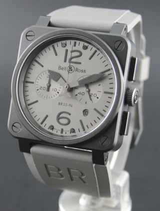 Bell & Ross Br 03 - 94 Chrono Commando Ungetragen Bild