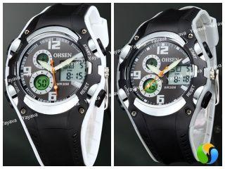 Yayava Led Digital Damen Kinder Sport Uhr Armbanduhr Sportuhr Analog Datum Bild