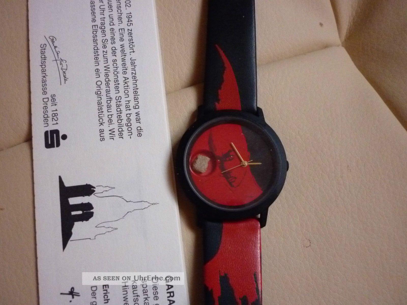 1 Dresdner Frauenkirche Uhr Sonderedition Künstleruhr Angela Hampel Armbanduhren Bild