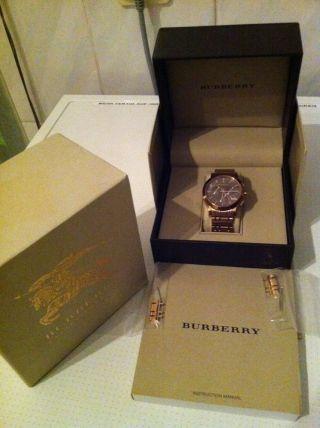 Burberry Herrenchronograph Bu1862 Bild