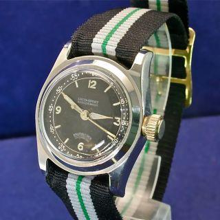 Laco Handaufzug Unisex Vintage Uhr Von 1952 Bild