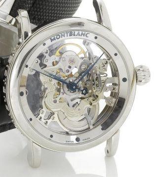 Montblanc Meisterstück Skeleton Star Uhr 333 Limited Edition Neuware Mit Ovp Bild