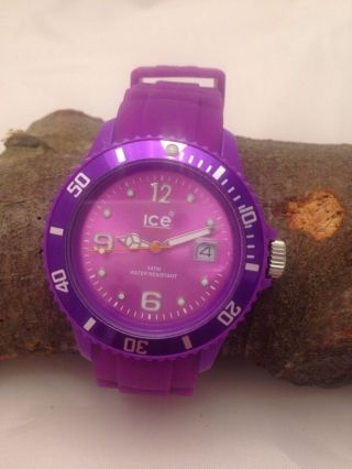 Ice Watch Uhr - Sili Forever Purple Uni Si.  Pe.  U.  S.  09 Origenal Bild