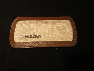 Bulova Armbanduhr Etui / Schutz / Aufbewahrung / Hülle Bild