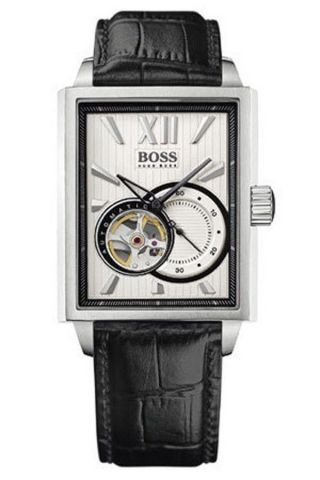 Hugo Boss 1512504 Automatik Automatic Watch Herrenuhr Leder 550€ Bild