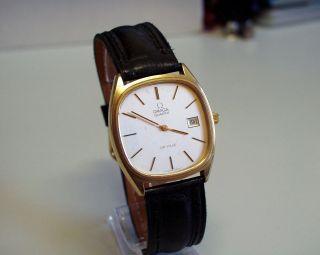 Servicesierte - Omega - De Ville - Herren - Uhr Mit Datumtumsanzeige Bild