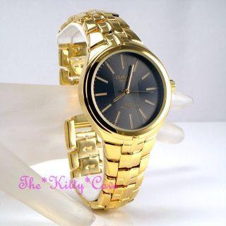 Omax Designer Edelstahl Schweizer Marke Gold - Plt Herren Kleidung Uhr Hbj811 Bild