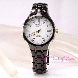 Armbanduhr Seiko Hbj825 Omax Retro Hämatit Schwarz Silber/gold Überzogen Bild