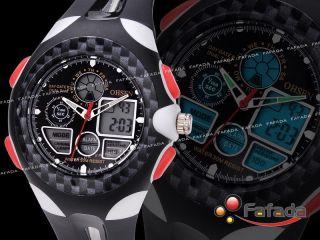 Ohsen Digital Analog Damenuhr Damen Armbanduhr Kinderuhr Kinderarmbanduhr Uhr Bild