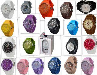 Trendige Silikon/kautschuk Fila Uhren In Vielen Verschiedenen Farben 5atm Bild