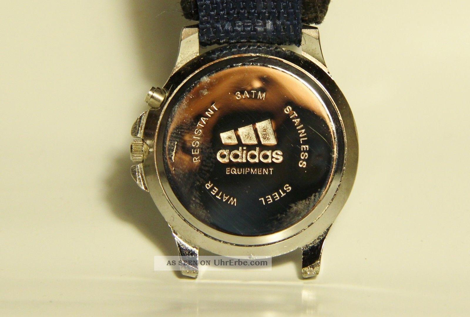 Adidas Herren (oder Damen) Sport Armbanduhr Mit Nachtbeleuchtung Armbanduhren Bild