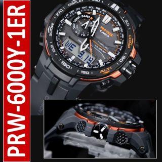 Casio Prw - 6000y - 1er Pro Trek Funk,  Solar Uhr