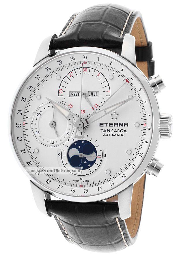 Eterna Tangaroa Moonphase Chronograph Armbanduhren Bild