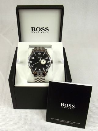 Hugo Boss Armbanduhr Watch Uhr Quarz Nr.  1512724 Bild