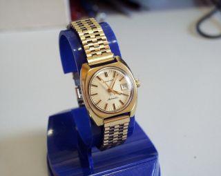 Vergoldete Und Servicesierte - Longines - Damen - Automatic - Uhr Mit Datumsanze Bild