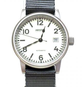 Aristo Uhr 3h17 - U - Boot - Uhr Mit Leuchtzifferblatt - Automatikwerk - Datum Bild