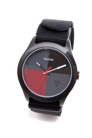 Nixon Quad Armbanduhr,  Allblack_93759 Bild