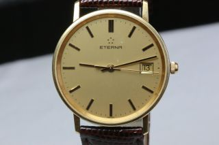 Eterna Armbanduhr 18k,  Ohne Box,  750gg Avs2743 Dif Rwt1 Bild