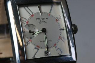 Zenith Elite Port Royal 5,  Automatikwerk,  Inklusive Box Avs2707 - Avs0675 Dif Rwt1 Bild