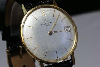 Eterna - Matic 3000 Gold,  Automatikwerk,  Inkl.  Box Und Papiere Avs2722 Dif Rwt1 Bild