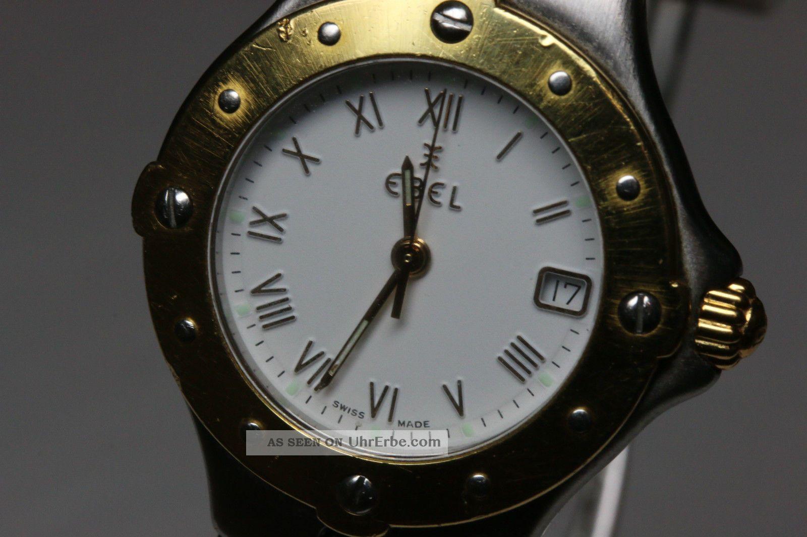 Ebel Sportwave,  Stahlgold 18k,  Ohne Box Avs2733 Dif Rwt1 Armbanduhren Bild