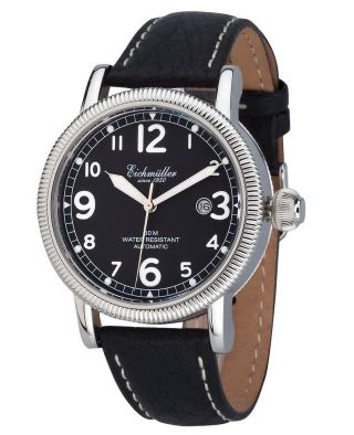 EichmÜller Automatikuhr 7930 - 01 Herrenuhr Business Edelstahl Watch Analog Bild