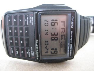 Casio Databank Calculator Watch Bild