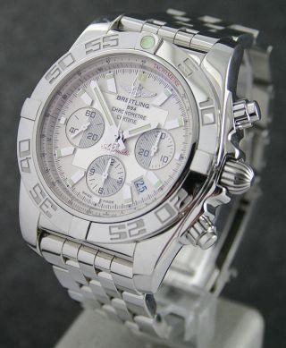 Breitling Chronomat 01 Ab0110 Stahl/stahl Bild