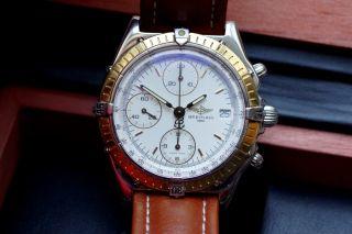 Breitling Chronomat Stahl/gelbgold Bild