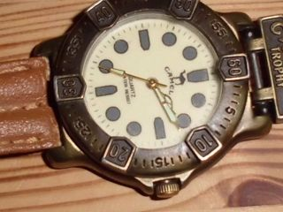 Armbanduhr Der Marke Camel Mit Camel Leder Armband,  Batteriebetrieben Bild