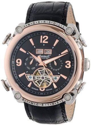 Ingersoll Herren - Armbanduhr Montgomery Kal.  457 In4505rbk,  Neupreis: 350€ Bild