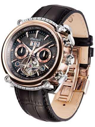 Brandneu Ingersoll Herren Armbanduhr Las Vegas In6909rbk,  Neupreis: 350€ Bild