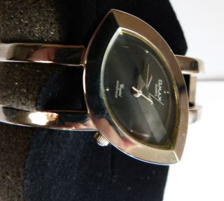 Uhr Damenarmbanduhr Omax Spange Versilbert Bild