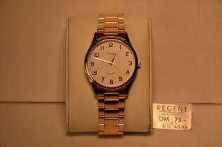 Uhr Armbanduhr Regent Para 9765.  31.  99 Mit Ronda Swissmade Werk 763 Bild