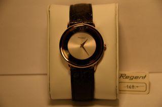 Uhr Armbanduhr Regent Ormo 3870/1130/565 Mit Ronda Swissmade Werk 762 Bild