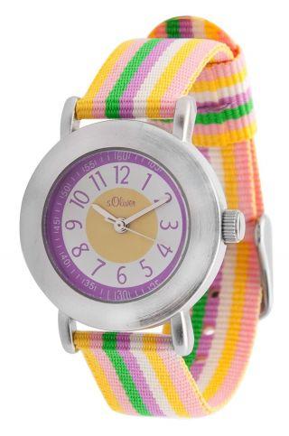 S.  Oliver Mädchen (kinder) Armbanduhr,  Uhr,  Watch,  So - 2388 - Lq Bild