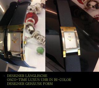 Osco - Time HÜbsches Style LÄngliches Form Damen Uhr In Bi - Color Bild