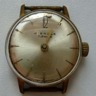 Kaputte Armbanduhr V.  Kienzle Nicht Mehr Funktionsfähig Bild