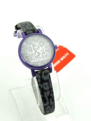 Miss Sixty Shw005 Mädchen Armbanduhr Uhr Watch Disco Analog Leder Uvp 89,  90€ Bild